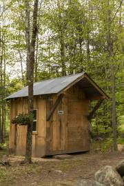 Tuckaway Tree Farm Outhouse