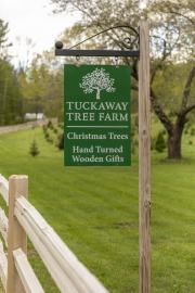 Tuckaway Tree Farm Sign